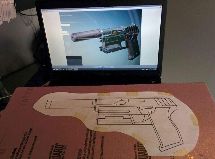 How I make my replica guns. (Tutorial)