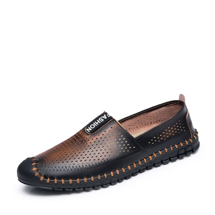 Summer Fashion Men Loafers Shoes Boat Designer Flats For Driving Moccasins Footwear Size 38 to 43 Black Brown Blue Gray Red