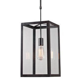 view the elk lighting singlelight foyer pendant at