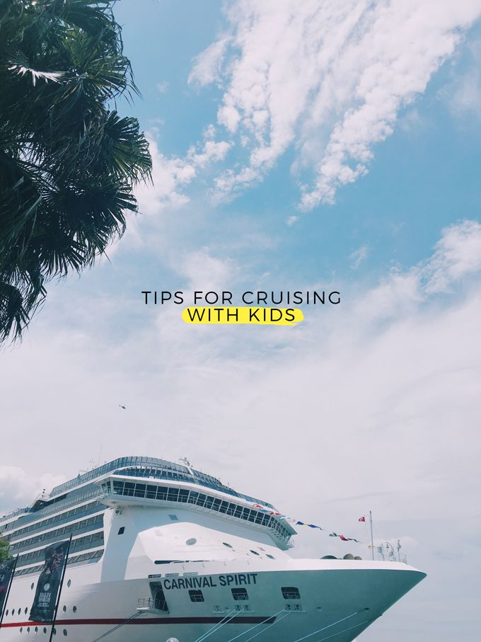 Tips for cruise holidays with kids {Carnival Spirit} - Fat Mum Slim