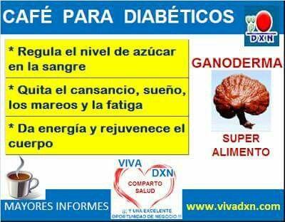 Café Dxn Ganoderma ideal para diabéticos!