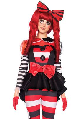 Women Costumes: Leg Avenue Women S 3 Piece Rag Doll Costume, Multi-Colored -> BUY IT NOW ONLY: $19.99 on eBay!