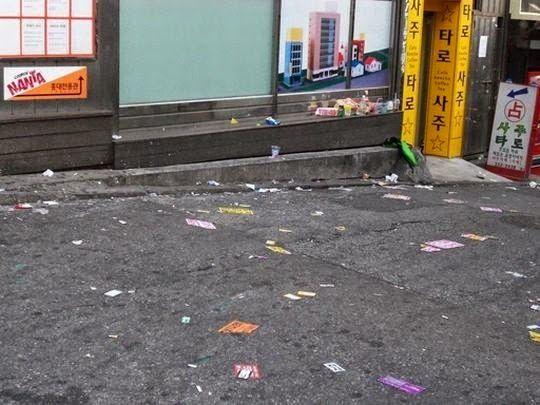 ぱくにゅー: 【韓国経済崩壊】 ソウルの街がゴミ溜に!!! 2ch 「自称先進国(笑)」「昔から中国に蔑まれた貧民...