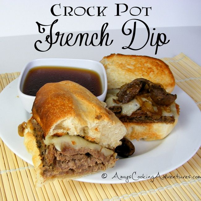Amy's Cooking Adventures: Crockpot French Dip
