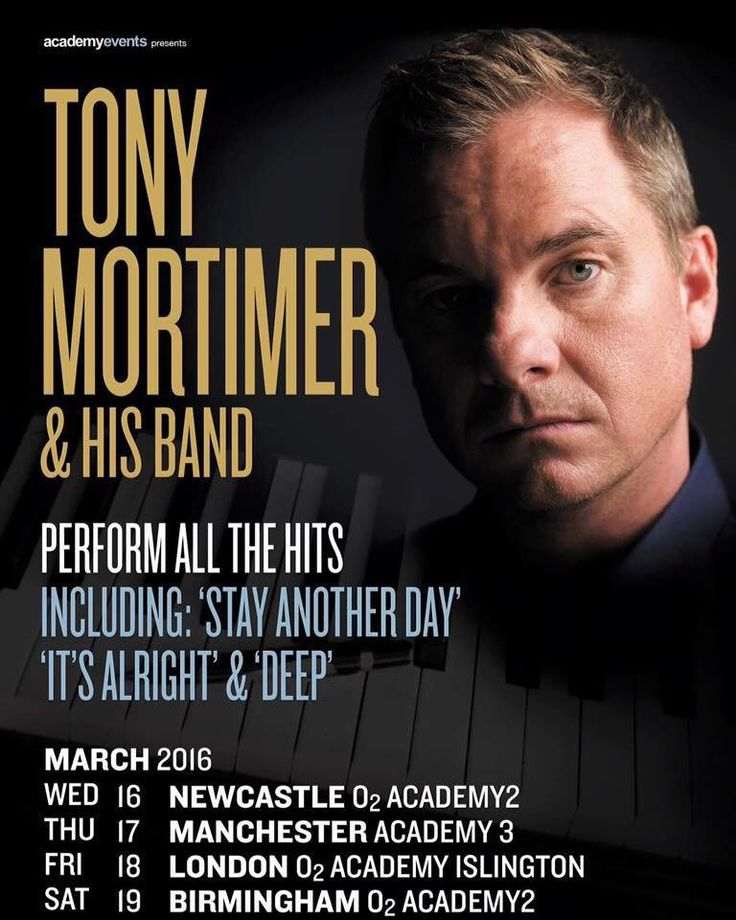 Tony Mortimer is going to perform again tour 2016   Go and check out his album: http://www.bol.com/nl/p/songs-from-the-suitcase/9200000013779301/ bol.com or on Amazon.com http://www.amazon.com/Songs-Suitcase-Tony-Mortimer/dp/B00CNENGPC/ref=sr_1_1?ie=UTF8&qid=1446069627&sr=8-1&keywords=tony+mortimer  #tour #TonyMortimer #Songsfromthesuitcase #Album #tour2016