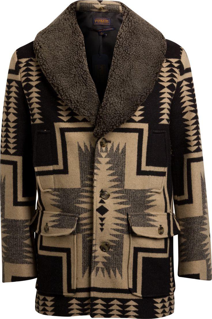 Pendleton Portland Collection Harding Blanket Ranch Coat