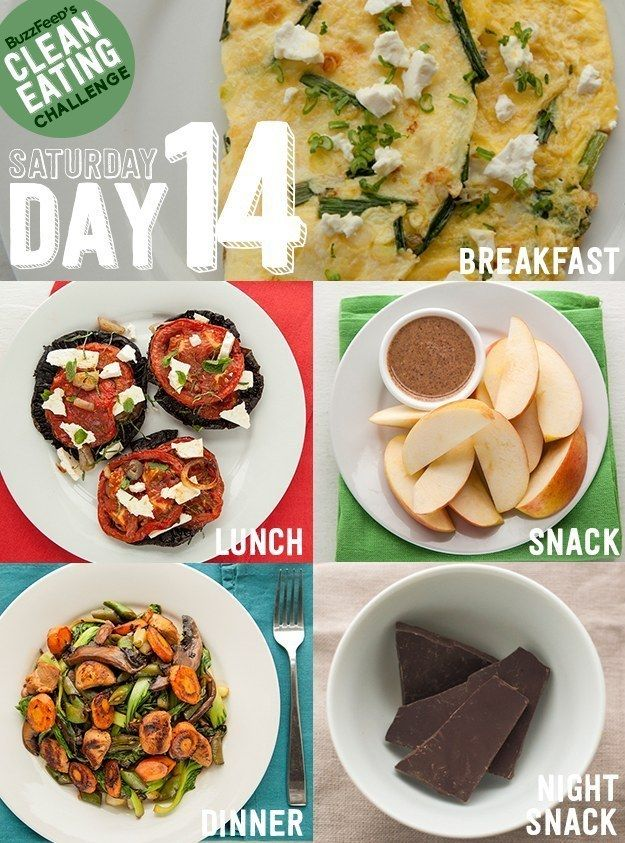 BuzzFeed's Clean Eating Challenge: Day 14