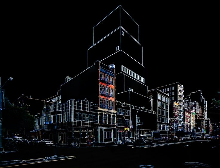 The New Museum in NY by Marlon de Azambuja. He used a magic marker for his museum renderings.