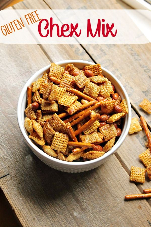 Make that time-honored family snack tradition of Chex Mix for everyone this season- a few simple ingredient swaps make this Gluten Free Chex Mix a must-make for your family! No one will miss the gluten!