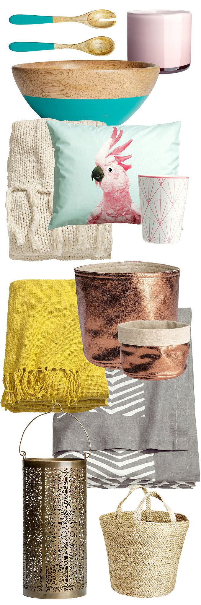 H&M's Spring Collection Is Blooming With Budget-Friendly Decor
