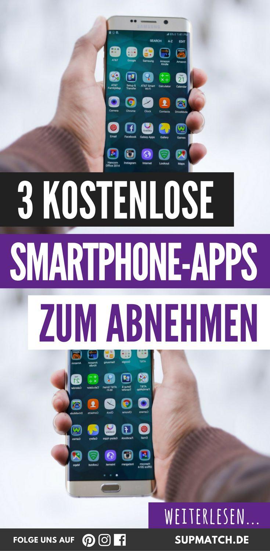 3 kostenlose Smartphone-Apps zum Abnehmen