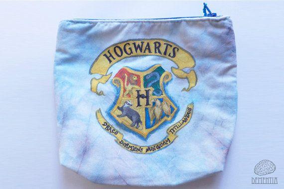Hogwarts Pouch, Handbag, Small Bag, Case