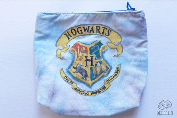 Hogwarts Pouch, Handbag, Small Bag, Case