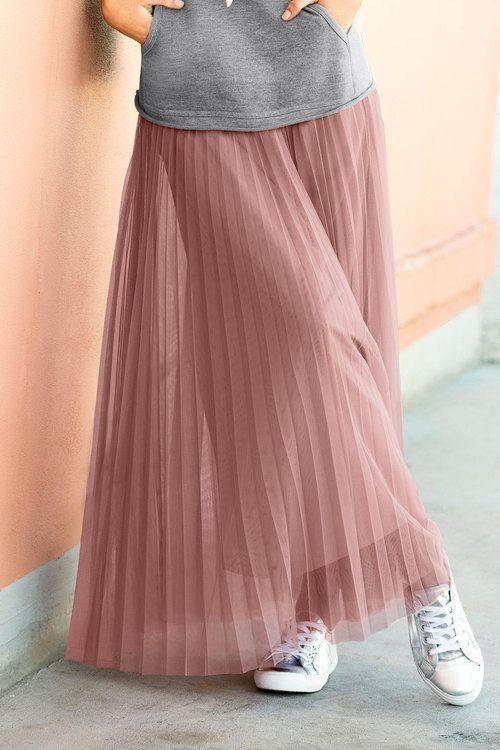 Emerge Pleated Tulle Skirt