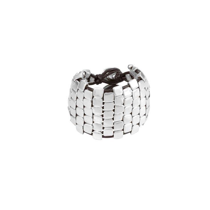 Wall up - Silver bracelets - Bracelets - Jewellery - Woman