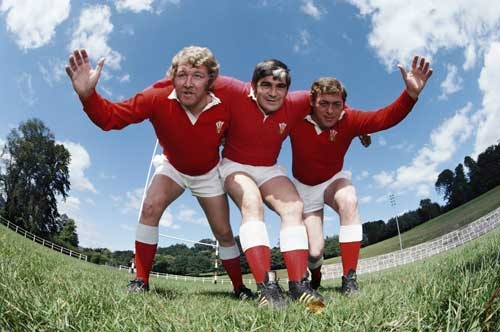 Pontypool front row - Welsh rugby