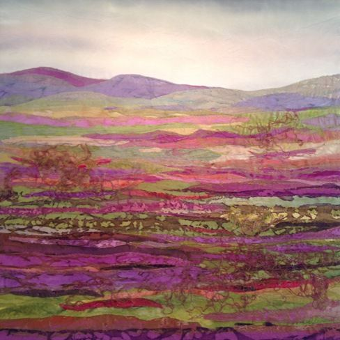 Moorland Colour - Wonderful work by Judith Reece.