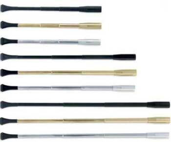 6-10 inch Opera Length cigarette holder; Platinum