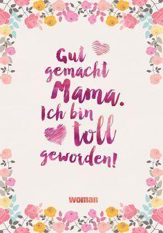 In diesem Sinne wünsche ich dir alles gute und liebe zum Muttertag