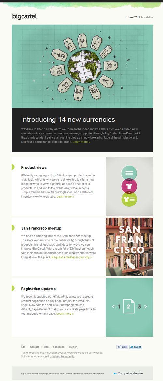 email newsletter design ideas - Newsletter Design Ideas