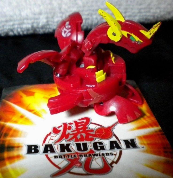 Bakugan Battle Brawlers Red PYRUS NEO DRAGONOID 550G Sega Spin Master…
