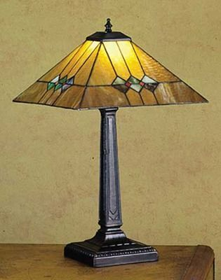209 best stained glass lamps images on pinterest tiffany lamps 22 inch h martini mission table lamp table lamps aloadofball Choice Image