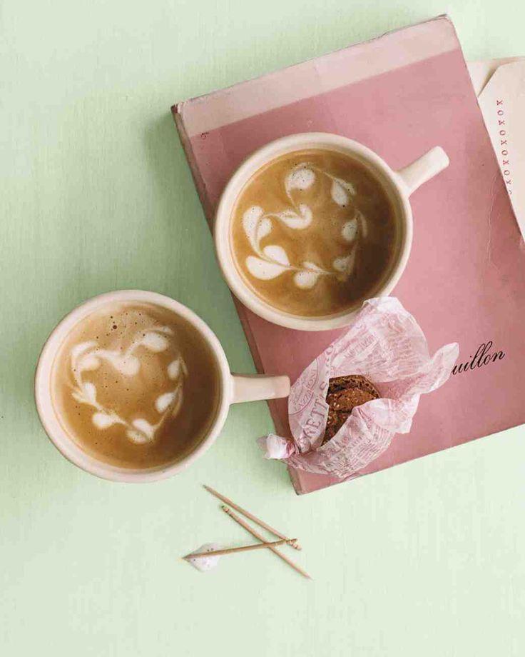 Cappuccino Heart Foam