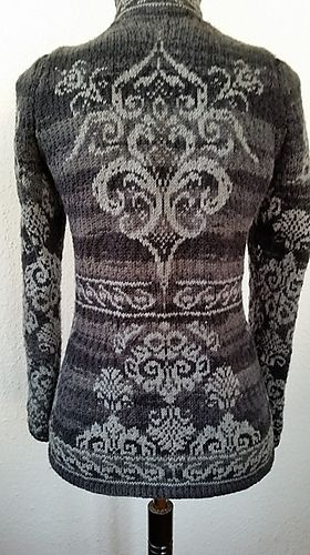 Inspriateion - love the idea of it.   Note from Ravelry - the pattern is not available/being reworked per the designer.   No dates given.