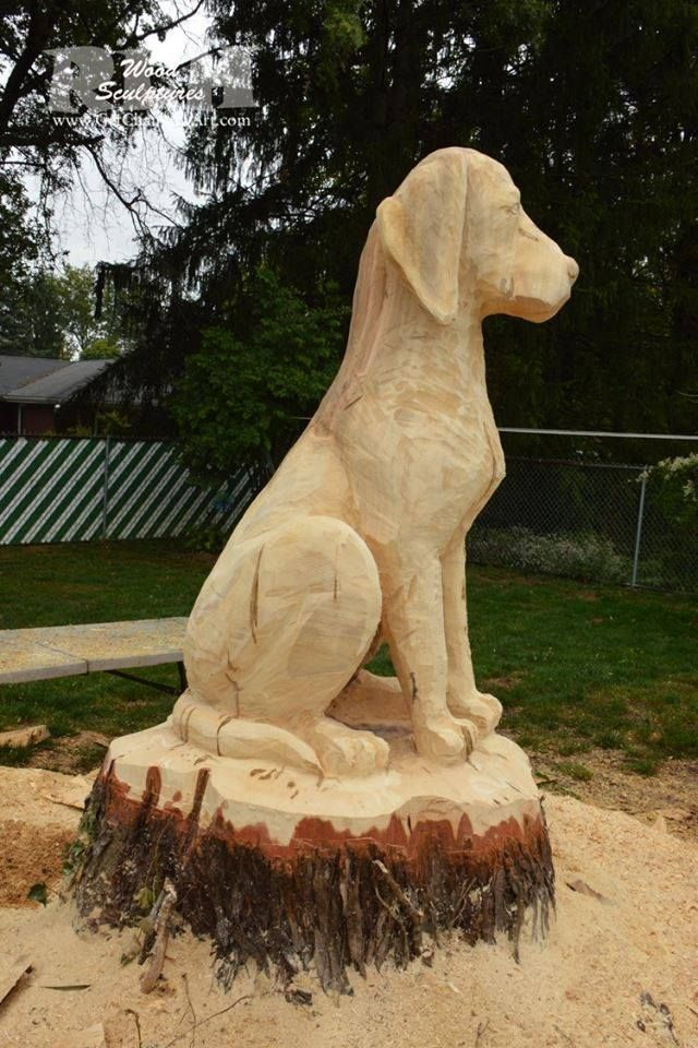 Best carved wooden dogs images on pinterest wood