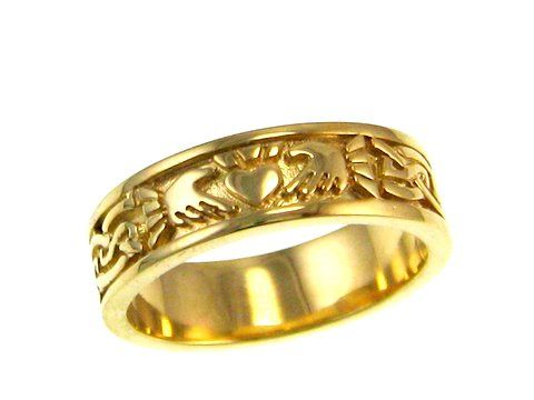NB Celtic Design - the home of fine Celtic & Claddagh Jewelry Love Claddagh rings represent Love Loyalty and Friendship