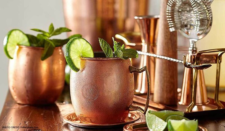 Serve your guests in style with our favorite copper serveware picks that are sure to impress your guests. #serveware #copper #copperserveware