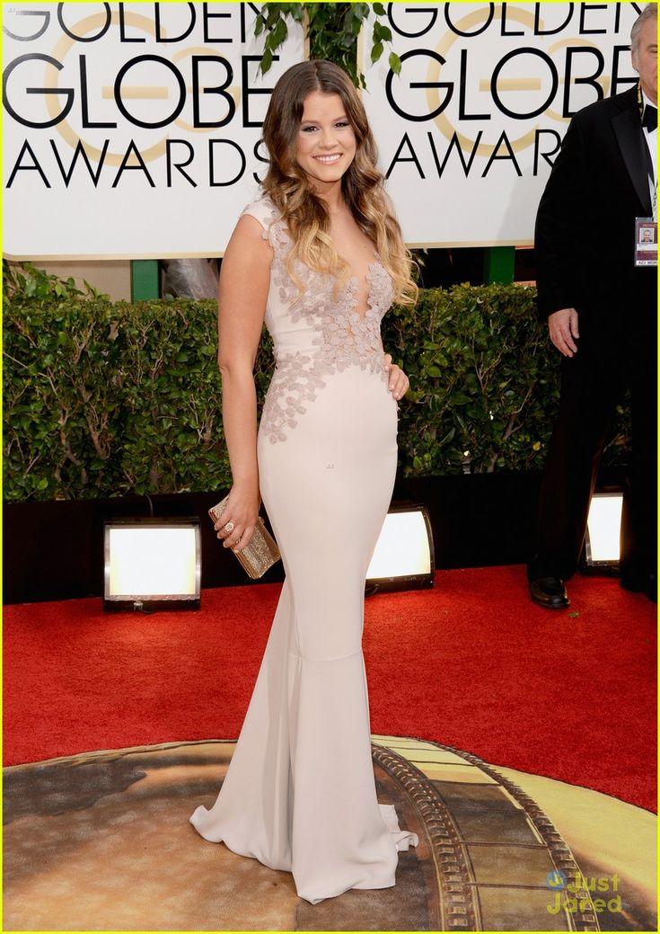 #2 Golden Globes dress- Sosie Bacon in Rhea Costa