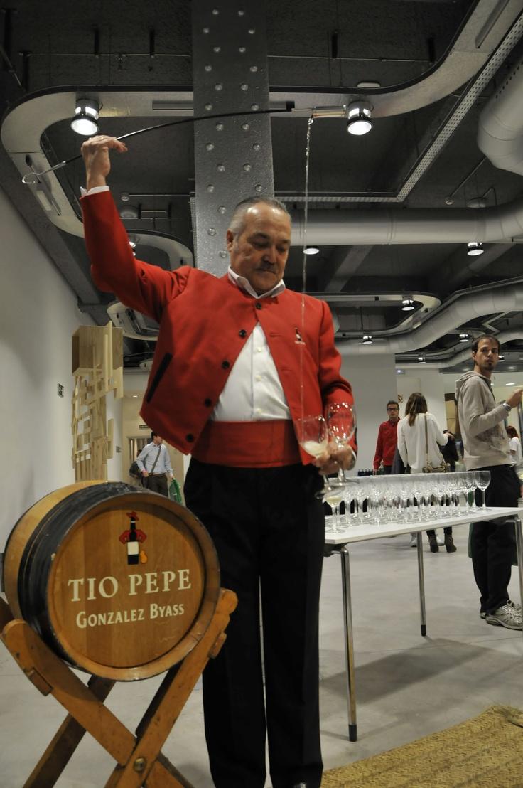 #TA2012 Tio Pepe nos acompañó en el cocktail del día jueves ;)