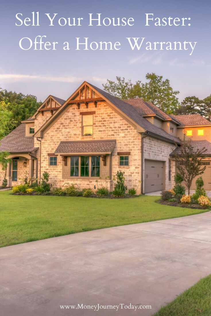 Your House Faster Offer A Home Warranty Best Of Money Journey Today Pinterest Ing Tips And