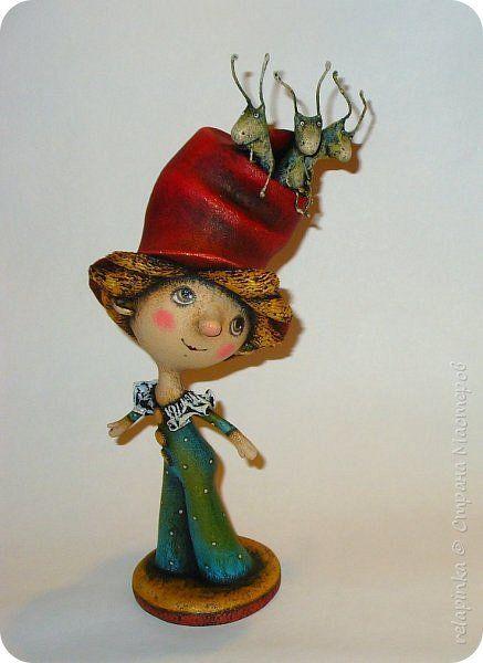 Куклы 1 апреля День рождения Папье-маше Дружная компания  Бумага фото 2
