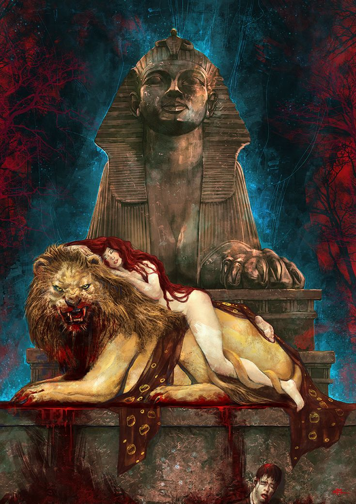 The Sphinx by Kid-Eternity.deviantart.com on @DeviantArt