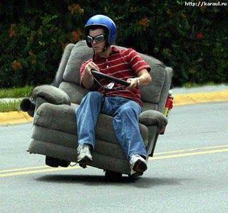 Carros doidos e veículos engraçados