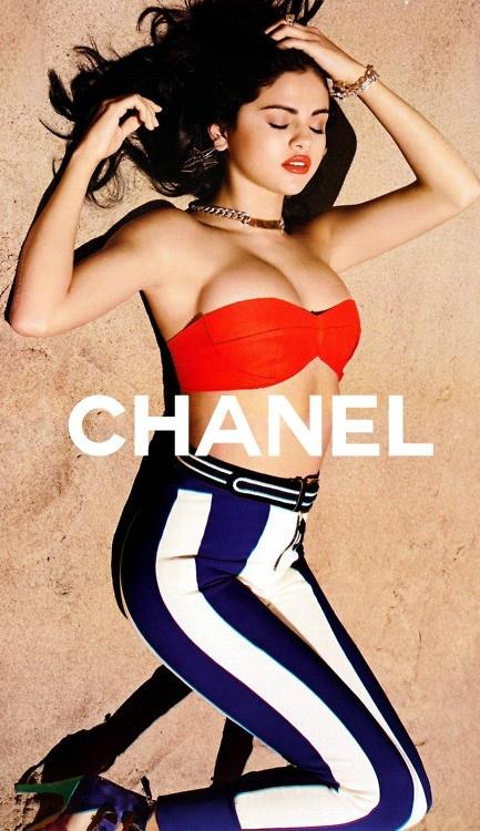 Selena Gomez for Chanel