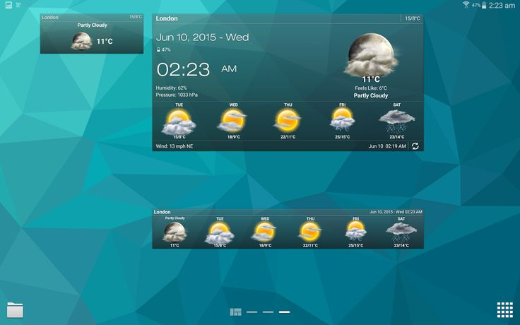 Weather & Clock Widget Android - Android Apps on Google Play