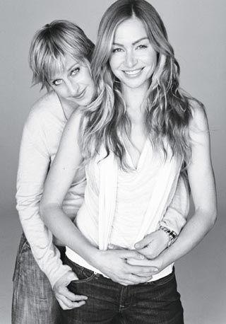 Lesbian love.: Lesbian Love, Portia Derossi, Ellen Portia, The Real, Adorable Couple, Cutest Couple, Beautiful Couple, Real Deals