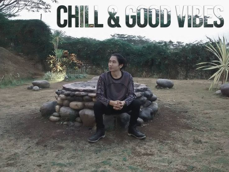 Be Calm Stay Chill and Good Vibes.