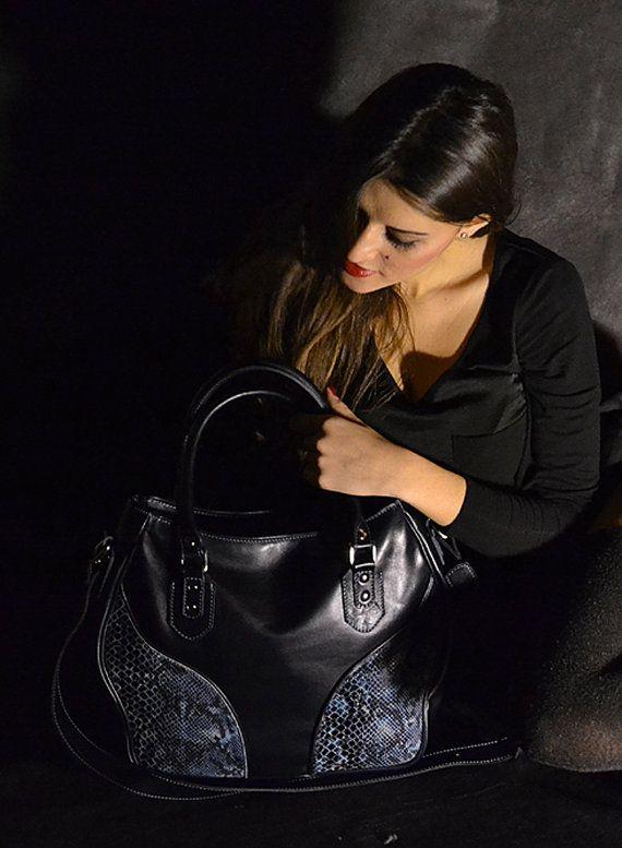 Genuine Leather Handbag 100 Made in Italy by Despeguestore. Handmade