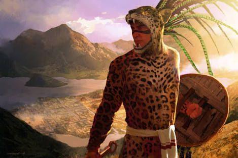 Resultado de imagen para guerreros aztecas
