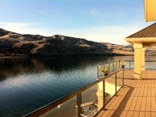 Chelan Vacation Rental - VRBO 398200 - 5 BR Lake Chelan Villa in WA, Lake Front Villa, Private Dock, Spa, Swim Dock and Buoy