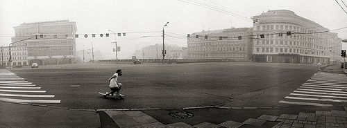 Longboarding in Moscow by wakediary