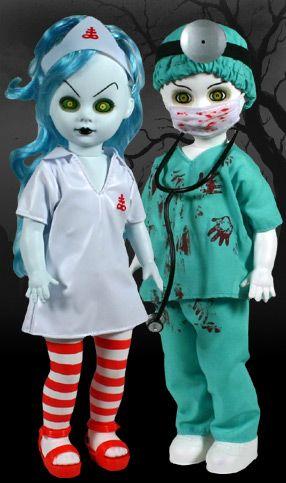 EXCLUSIVE - Dr. Dedwin and Nurse Necro