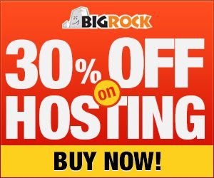 Offer: 30% off on Web Hosting + 12% off on Domain Names  End Date: 31st October, 2015 @ http://www.bigrock.in/?a_aid=5401c1f0aa4e2 Bigrock Reviews@ http://www.updatedreviews.in/bigrock-review.php