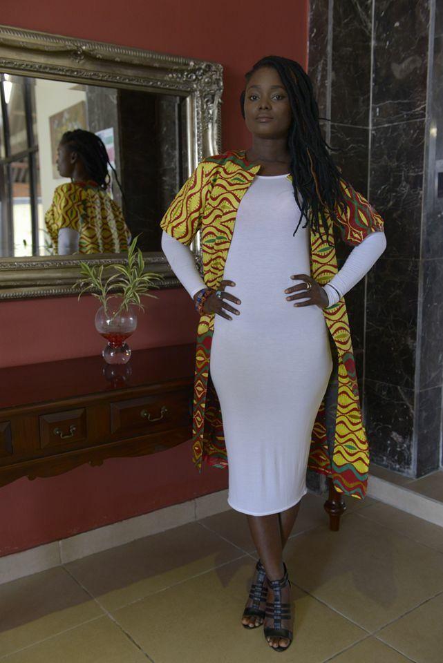 Liberian Fashion Designer Ms Cooper Of Myeonway Designs