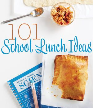 101 lunch ideas to make this school year a little easier!