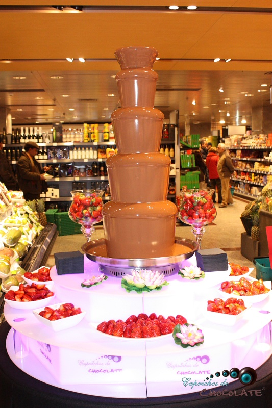 91 best fuentes de chocolate chocolate fountains images for Fuente de chocolate el corte ingles